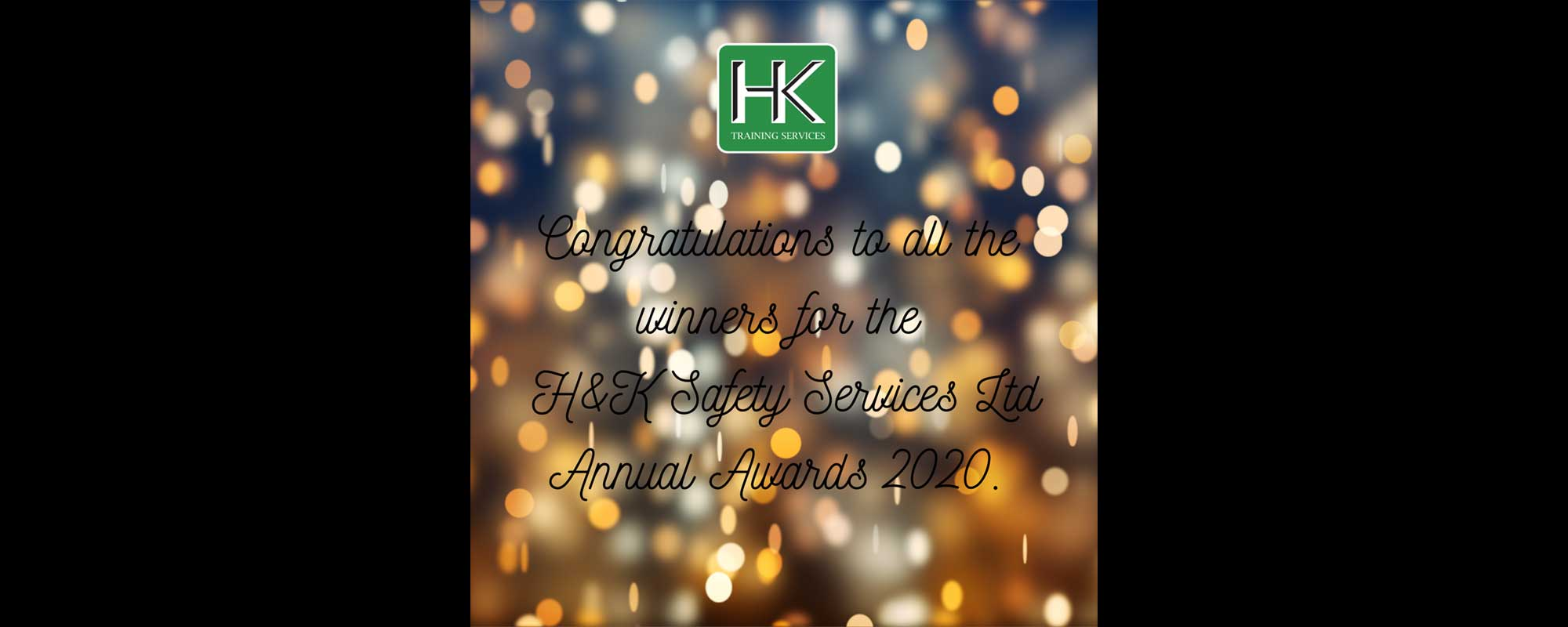 Congratulations to the HK Training Annual Award winners 2020